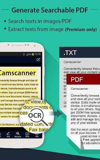 CamScanner HD - Scanner, Fax 3.2.0.20140327 Screenshots 4