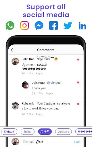 Fonts Keyboard - FancyKey, Emojis & Stylish Fonts 3.5 Screenshots 7
