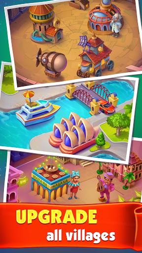 Spin Voyage: raid coins, build and master attack!  screenshots 8