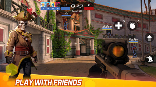MaskGun Multiplayer FPS - Free Shooting Game 2.510 Screenshots 5