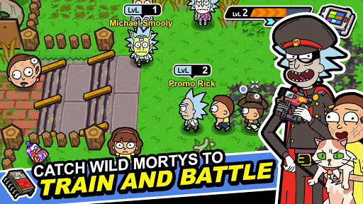 Rick and Morty: Pocket Mortys apkslow screenshots 1