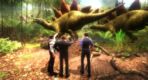 VR Jurassic - Dino Park & Roller Coaster Simulator apktram screenshots 3