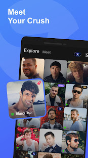Blued: Gay chat, gay dating & live stream 3.8.0 Screenshots 1