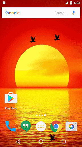 Sunset Live Wallpaper screenshots 3