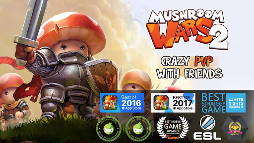 Mushroom Wars 2: RTS Tower Defense Strategy gameud83cudf44 4.3.3 screenshots 7