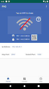WiFi Repeater Screenshot