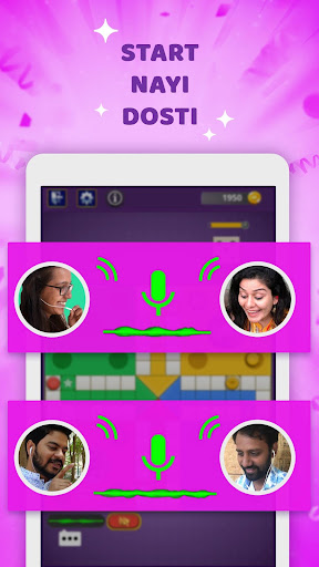 Hello Ludou2122- Live online Chat on star ludo game ! 11.2 Screenshots 1