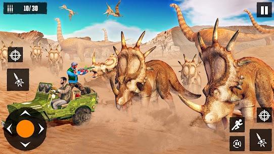 Dino Hunting Games 2021: Dinosaur Games Offline Mod Apk (God Mode) 8