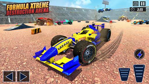 Police Formula Car Derby Demolition Crash Stunts  screenshots 23
