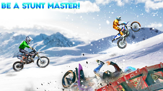 Snow Tricky Bike Impossible Track Stunts 2021 1.6 Screenshots 3