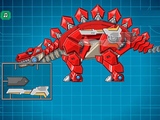 Assemble Robot War Stegosaurus 3.5 screenshots 4