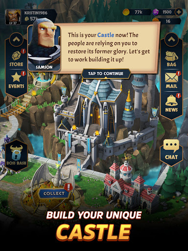 Kingdom Boss - RPG Fantasy adventure game online  screenshots 19