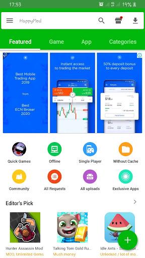 Happymod - Happy Apps Guide For HappyMod hack tool