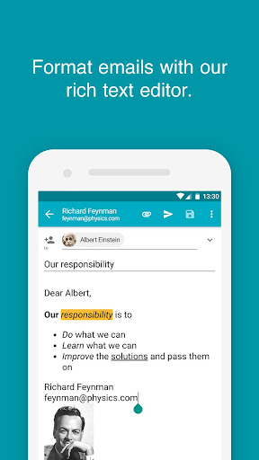 Aqua Mail - Email app for Any Email 1.27.2-1730 Screenshots 3