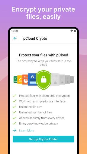 pCloud: Free Cloud Storage screenshots 7