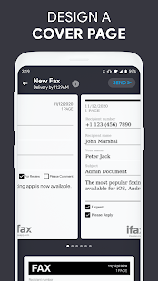 iFax - Send fax from phone, receive fax for free
