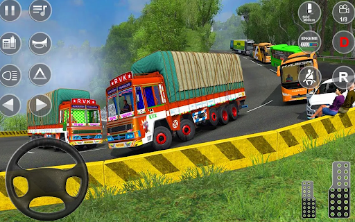 Euro Truck Driver 3D: Top Driving Game 2020 screenshots 12