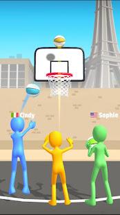 Five Hoops - Basketball Game screenshots 1