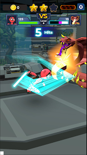 Supreme Saberman: Stickman Fight Space Invaders 3