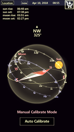 Sun & Moon Tracker  screenshots 1