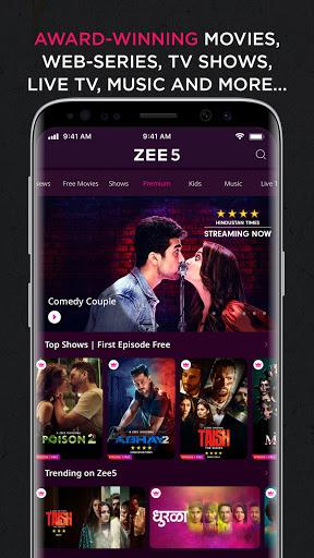 ZEE5: Movies, TV Shows, Web Series Apkfinish screenshots 3