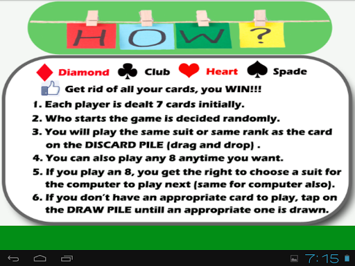Crazy Eights Fun For PC Windows (7, 8, 10, 10X) & Mac Computer Image Number- 11
