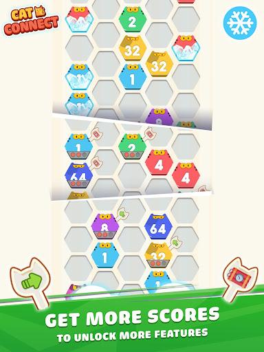 Cat Cell Connect - Merge Number Hexa Blocks 1.2.1 screenshots 14