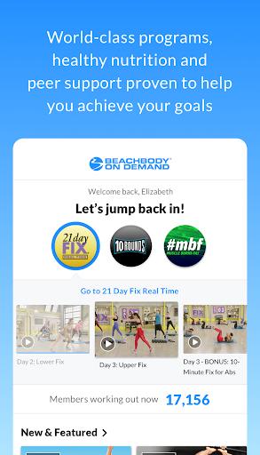 Beachbody On Demand - The Best Fitness Workouts 5.0.0 Screenshots 1