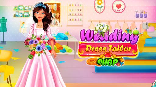 Wedding Dress Tailor Shop: Design Bridal Clothes 1.0.8 screenshots 1