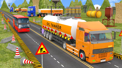 Indian Oil Tanker Cargo Truck Game apkpoly screenshots 4