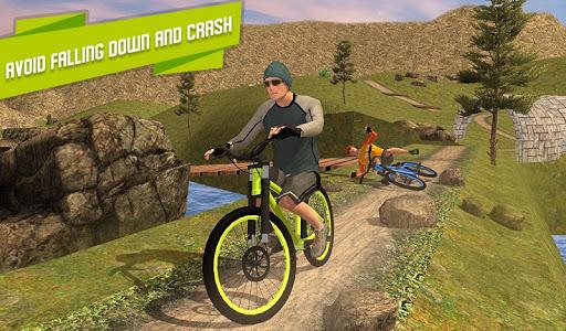 BMX Offroad Bicycle rider Superhero stunts racing screenshots 13