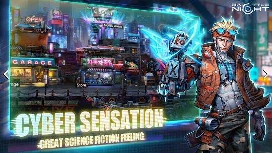 Battle Night: Cyberpunk-Idle RPG 2