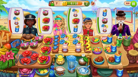 Hell's Cooking: Crazy Burger, Kitchen Fever Tycoon Mod Apk 1.80 (A Lot of Gold Coins) 2