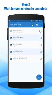 PDF to Word Converter 3.0.50 Screenshots 3
