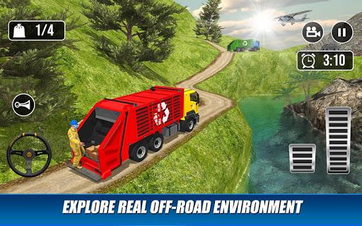 Offroad Garbage Truck: Dump Truck Driving Games 1.1.6 screenshots 15