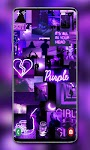 screenshot of Purple Wallpaper 💜