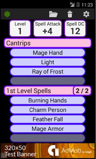 Fifth Edition Character Sheet apktram screenshots 4