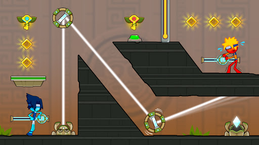 Fire and Water Stickman 2 : The Temple  screenshots 3