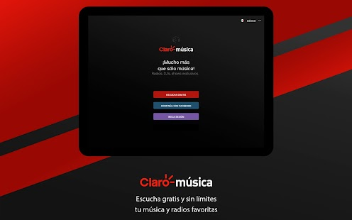 Claro Música Screenshot