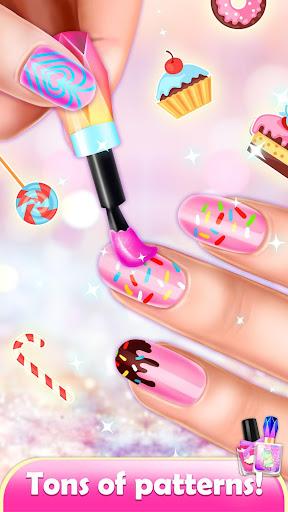 Nail Artist: Girl Games Salon Makeup Makeover 1.0 screenshots 1