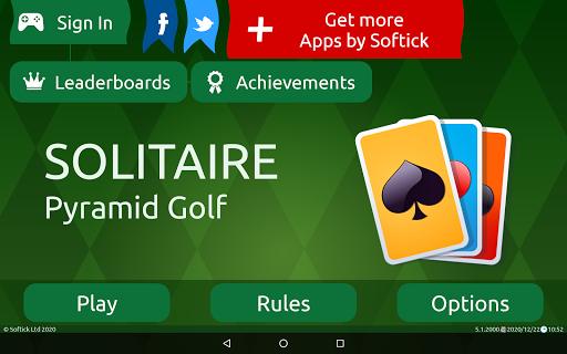 Pyramid Golf Solitaire screenshots 16