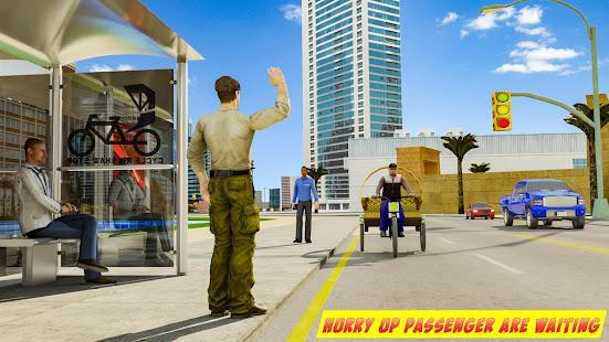 BMX Bicycle Taxi Driving City Passenger Simulator 1.2 Screenshots 1
