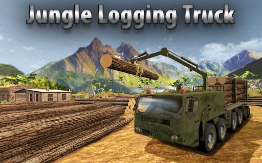 jungle logging truck simulator screenshot 1