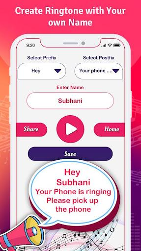 my name ringtone maker & call name ringtone screenshot 2