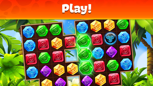 Gemmy Lands: Gems and New Match 3 Jewels Games apkslow screenshots 16