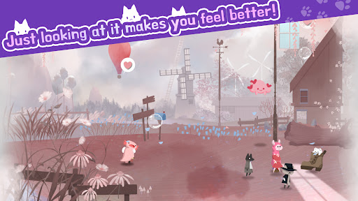 Cat Shelter and Animal Friends: Idle Relaxing Game  screenshots 2