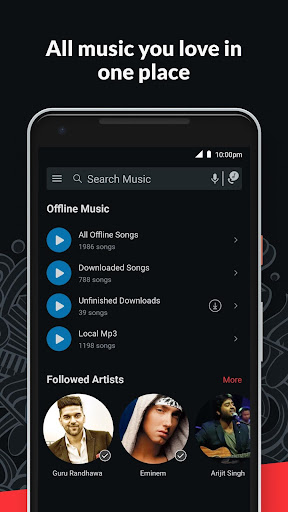 Wynk Music- New MP3 Hindi Songs Download HelloTune  screen 2