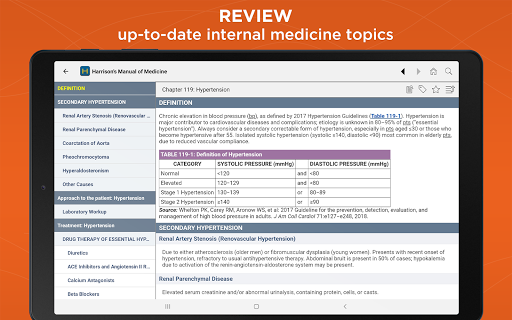 Harrison's Manual of Medicine 2.7.95 Screenshots 12