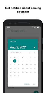 Tilla Premium – subscriptions manager Apk Download 3