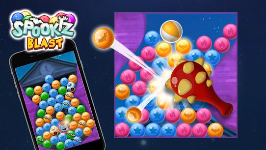 Spookiz Blast : Pop & Blast Puzzle Apk Mod + OBB/Data for Android. 3